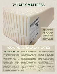 best natural beds organic latex mattress